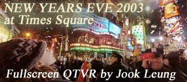 New Years Eve at Times Square 2003